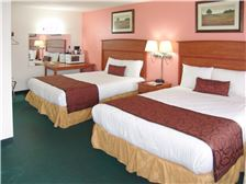 Palms Motel Room - Double King Bed Accommodation Portland OR