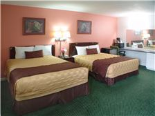 Palms Motel Room - Double Queen Bed Accommodation Portland OR