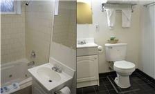 Palms Motel Room - Hotel guestroom Bathroom
