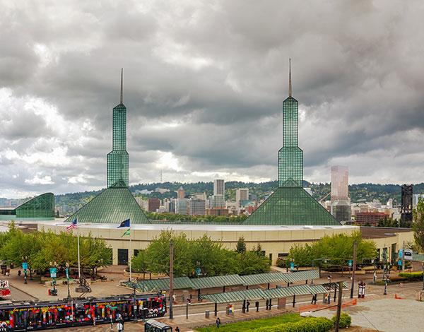Portland Metropolitan Exposition Center at Oregon
